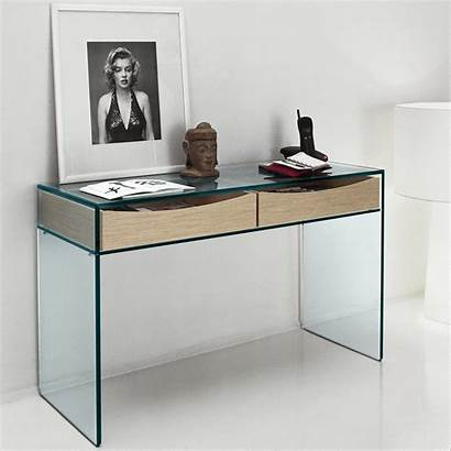 Table Console Glass Drawers Gulliver Tables Shelf