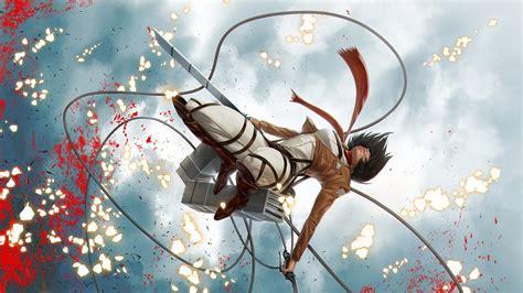 attack  titan mikasa ackerman shingeki  kyojin hd