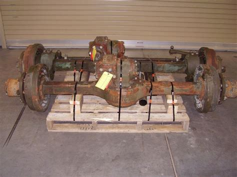 Military M35 Rockwell 2.5 Ton Top Loader Complete Axle Set