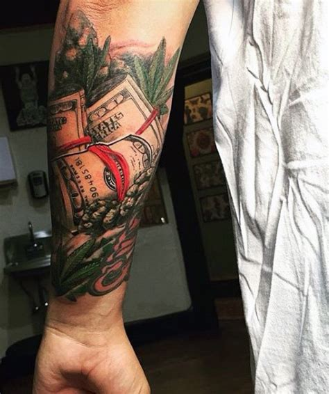 money bag designs 50 money tattoos for wealth of masculine design ideas