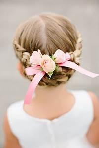 Coiffure Enfant Tresse : coiffure ceremonie enfant ~ Melissatoandfro.com Idées de Décoration