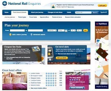 National Rail Enquiries Train Journey Planner On The App