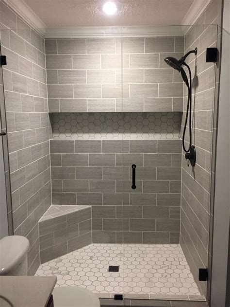 tile for bathroom shower 17 best ideas about half wall shower on