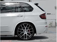E70 X5 White E70 X5 M lowered on 23's with H&R springs
