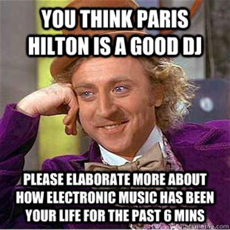Paris Hilton Meme - condescending wonka memes quickmeme