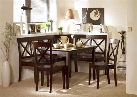 Kitchen Nook Dining Set by Espresso Corner Bench Dining Set Booth Table Chairs