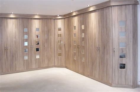 Built In Wardrobe Designs by Contemporary Fitted Wardrobe Design With Wooden Style