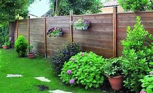 palisser son jardin avec des panneaux brise vue en bois de With comment amenager un jardin 0 allees exterieures comment les amenager travaux