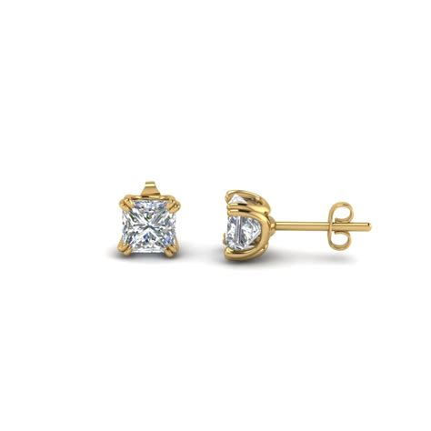 princess cut diamond trio matching ring