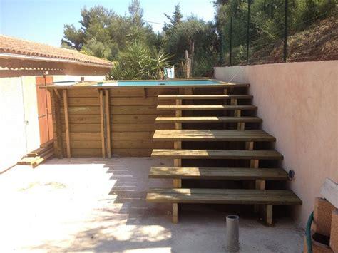 Escalier Extérieur En Bois Toulon Var La Garde Hyeres