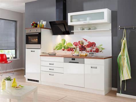 Küchenzeile Mit E-geräten »fulda, Breite 250 Cm«