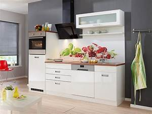 Billige Küchen Mit E Geräten : k chenzeile mit e ger ten fulda breite 250 cm otto ~ Frokenaadalensverden.com Haus und Dekorationen