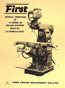 First Lc Vertical Milling Machine
