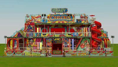 custom scenery depot theme park games crazy circus