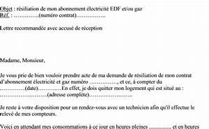 Lettre De Résiliation Edf : modele lettre demande 13eme mois ~ Maxctalentgroup.com Avis de Voitures