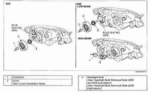 2003 Mazda Protege5 How Do You Replace The Right Low Beam