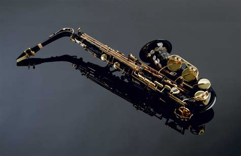 saxophone musical instruments nice details reflection HD ...