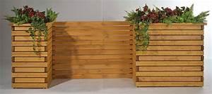 Raumteiler Für Garten : sichtschutz baden f r pflanzkubus baden 130x95cm honig bei ~ Michelbontemps.com Haus und Dekorationen