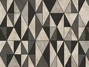 Papier Peint Motif Geometrique : papier peint motifs g om triques pour ext rieur diecut ~ Dailycaller-alerts.com Idées de Décoration