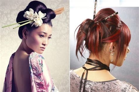 Japanese Hairstyles Buns by Various Styles To The Top Knot For Hair