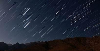 Shooting Stars Night Mountain Wallpapers Desktop Backgrounds
