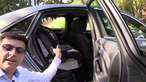 audi  child seat review youtube