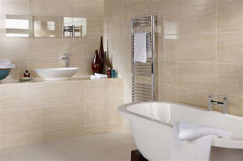 Badezimmer Fliesen Creme by 15 30m2 Or Sle Dorchester Travertine Gloss