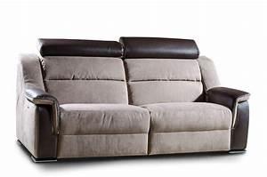 Sofa Mit Verschiebbarer Rückenlehne : zweisitzer sofa mit kopfst tze verstellbare r ckenlehne idfdesign ~ Bigdaddyawards.com Haus und Dekorationen