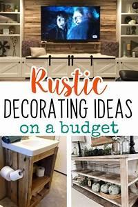 Diy, Rustic, Decorating, Ideas, On, A, Budget