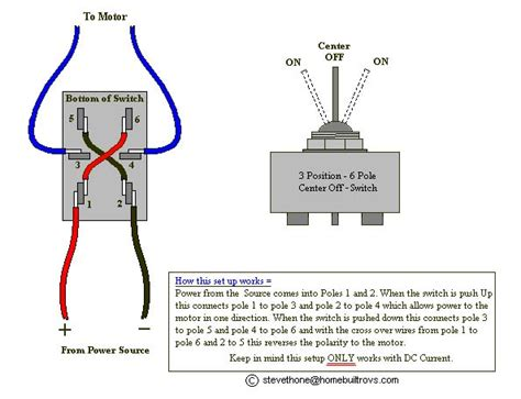 3 Pole Switch Diagram by Homebuilt Rovs