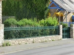 Muret De Cloture : devis en ligne pour portails motoris s automatiques et ~ Melissatoandfro.com Idées de Décoration