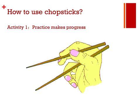 Do You Know How To Use Chopsticks?  The Tornado Beacon