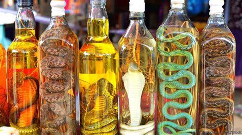 Wanita Yang Mengandung Ular 11 Minuman Unik Yang Ternyata Dibuat Dengan Proses Tak Lazim