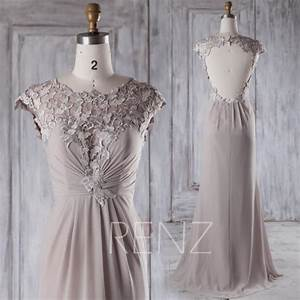 2015 long gray bridesmaid dress light grey bow wedding With light gray wedding dress