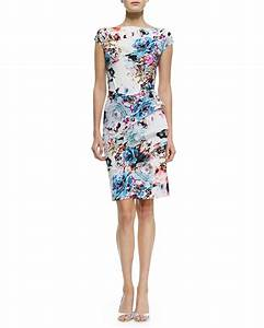 la petite robe di chiara boni floralprint ruchedskirt With robe cocktail petite