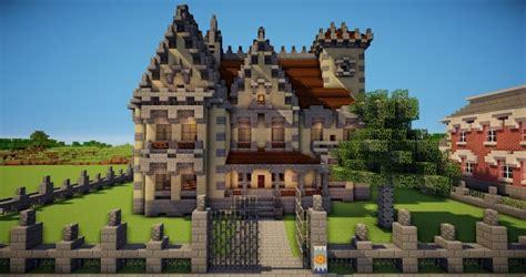 neo gothic house minecraft map