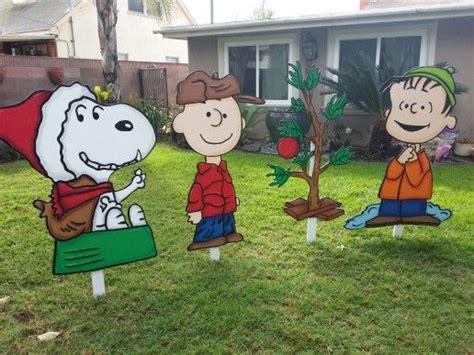 peanuts characters christmas yard decorations christmas