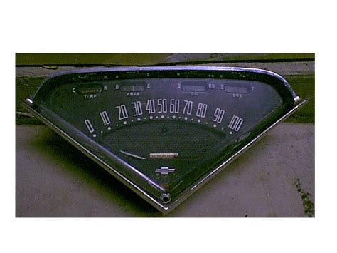 chevy apache gauge cluster classic parts talk