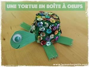 Bricolage A Faire Avec Des Petit : bricolage tortue en bo te oeufs la cour des petits ~ Melissatoandfro.com Idées de Décoration