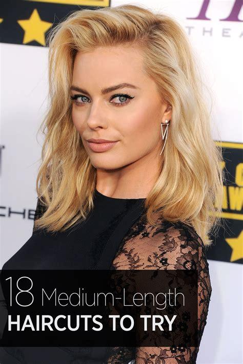 Stylish Mid Length Haircuts 2018 / 2019 (Dengan gambar)