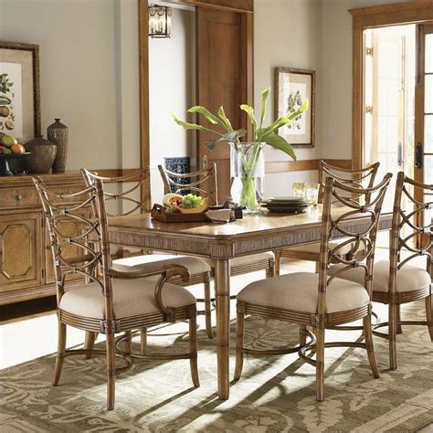 beach kitchen table and chairs tommy bahama home beach house boca grande dining table in
