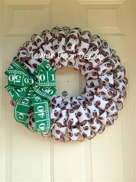 Football Wreath Decorations - best 25 football wreath ideas on sports