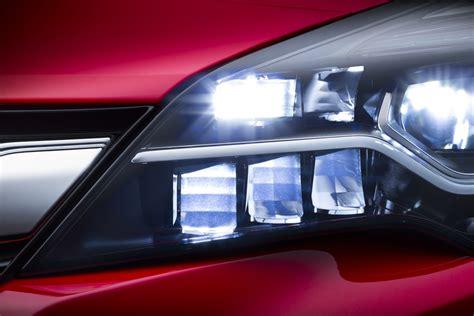 opel astra  feature matrix led headlights