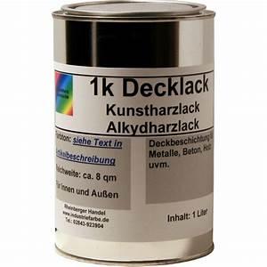 Ral 9010 Reinweiß : kunstharz decklack 1 liter ral 9001 reinwei gl nzend alkydh ~ Orissabook.com Haus und Dekorationen