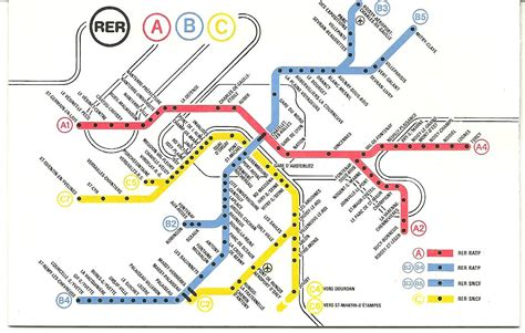 Carte Rer Parisien by My Metro And Rer Stories Ross May Writer Large