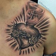 Best Sacred Heart Tattoo Ideas And Images On Bing Find What You