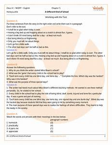 Ncert Solutions For Class 6 English Honeysuckle Chapter 5