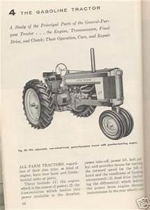 1957 John Deere Book 420 520 620 720 820 And Equipment