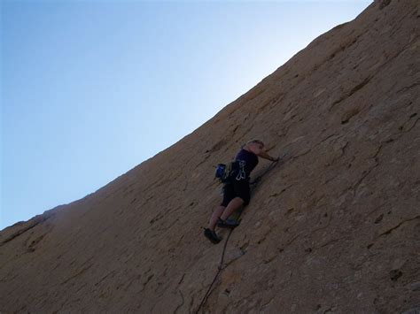 Rock Climbing Wonderwall North West Oman