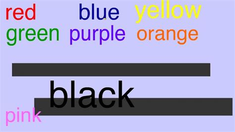 how do you spell color sing along to learn to spell the color words